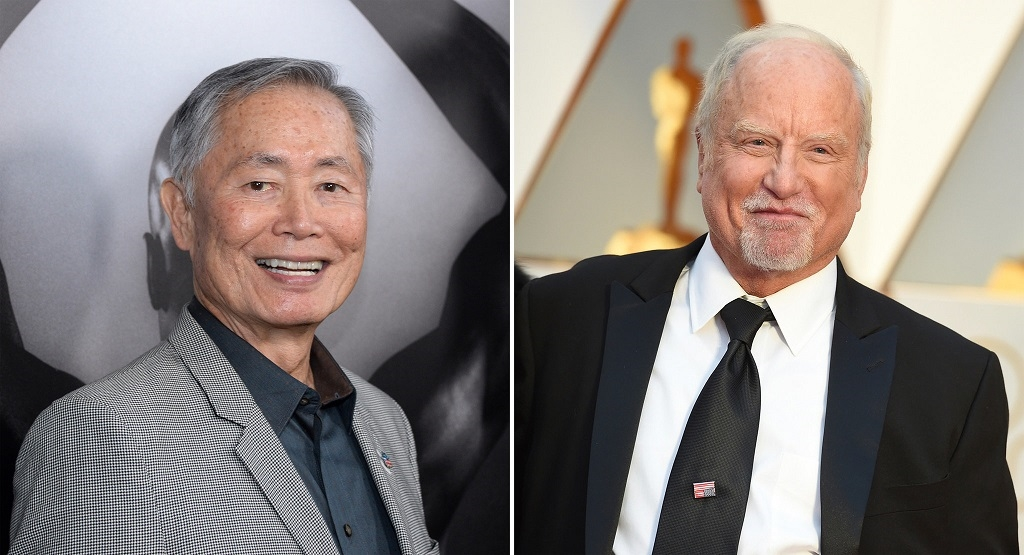 Takei y Dreyfuss son acusados de acoso sexual
