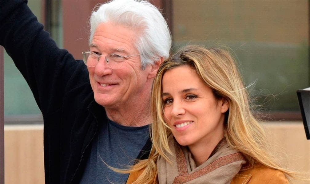 La edad no es impedimento para Richard Gere