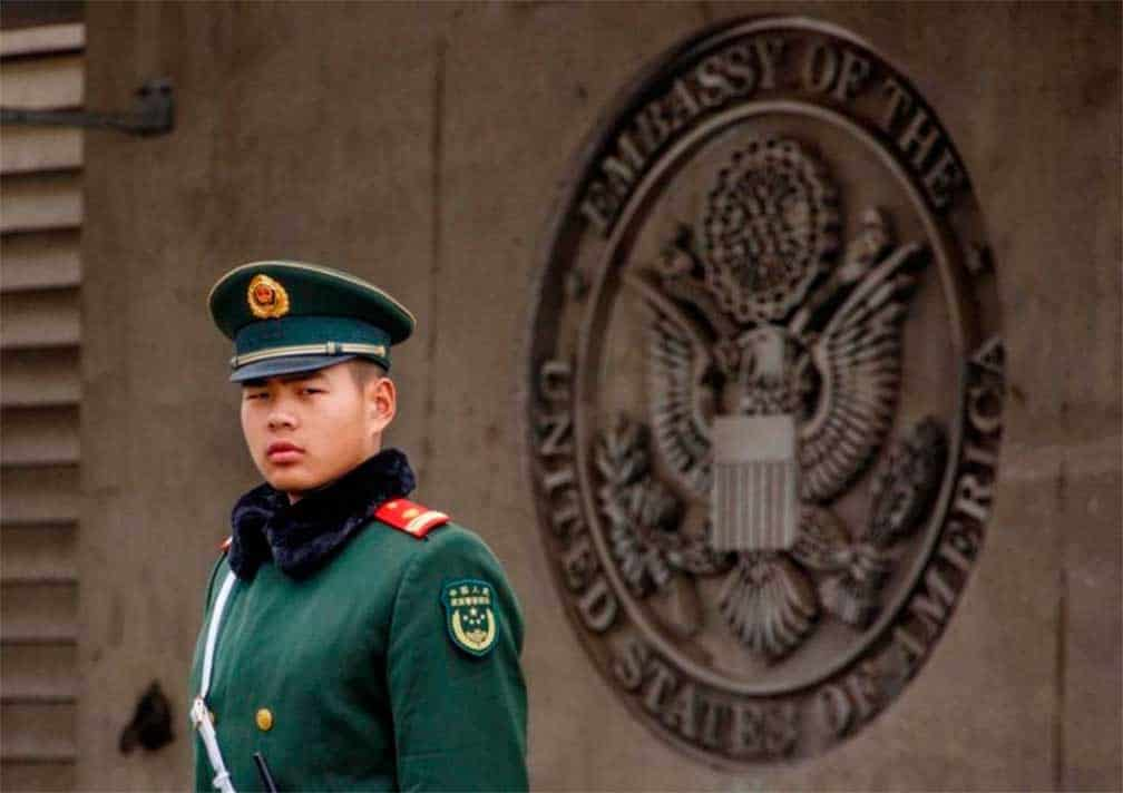 China sigue sin poder explicar incidente sónico que afectó a funcionario EEUU